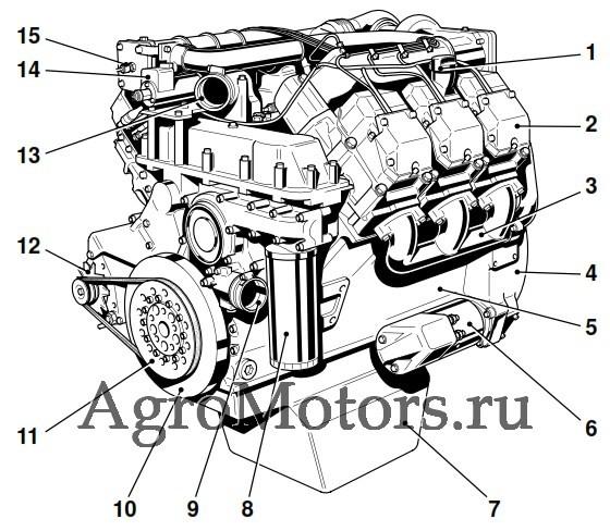 запчасти двигателя нэнси ламборджини 3 цилиндра
